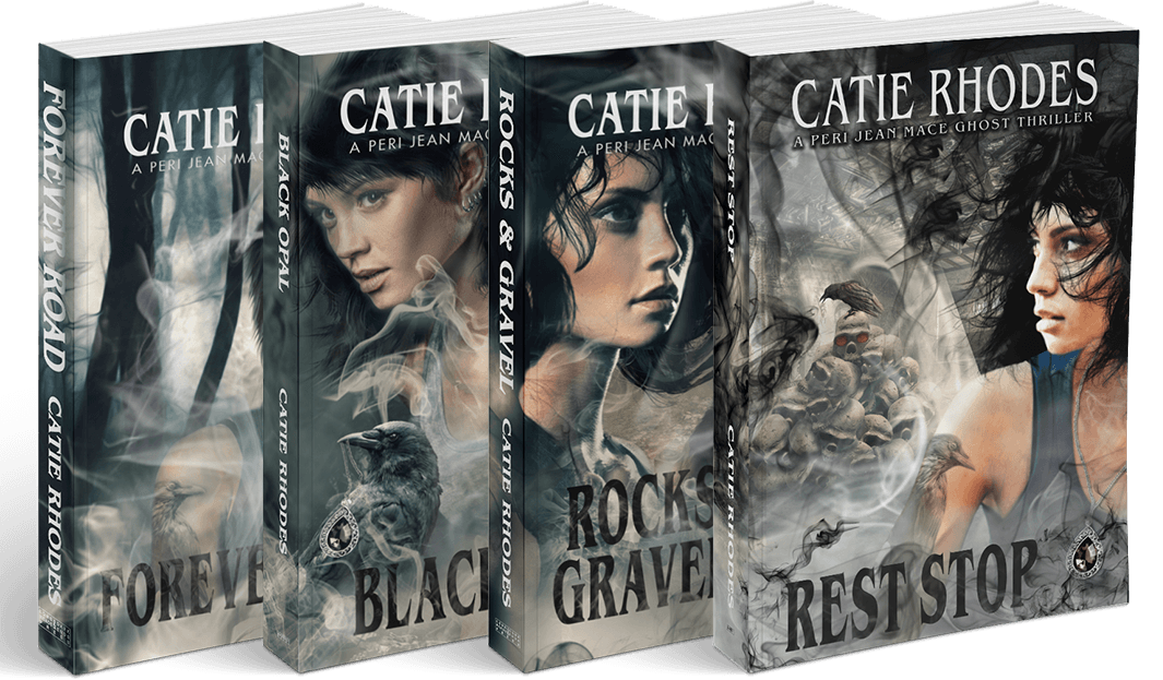 The Peri Jean Mace Ghost Thrillers by Catie Rhodes