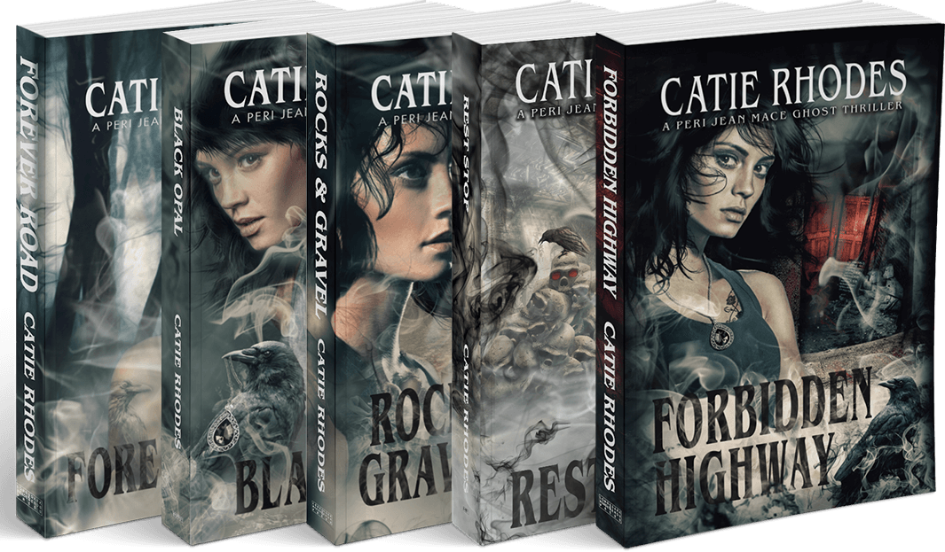 Peri Jean Mace Ghost Thrillers by Catie Rhodes