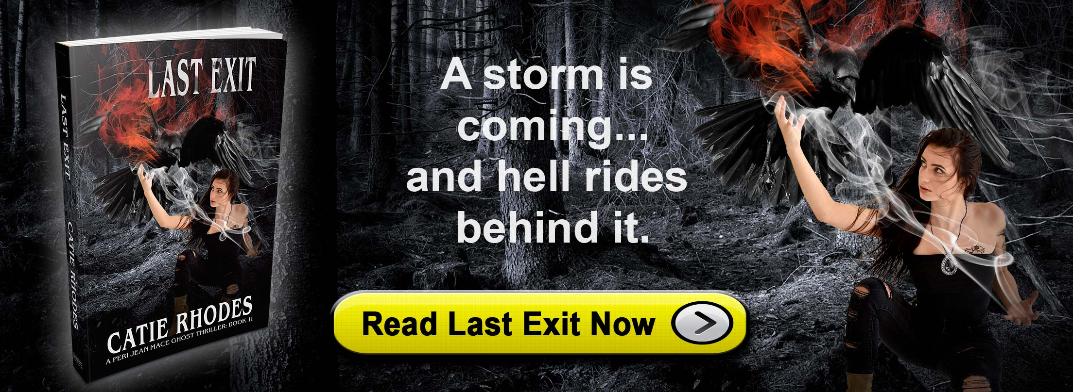 Last Exit: A Peri Jean Mace Ghost Thriller Book 11 by Catie Rhodes