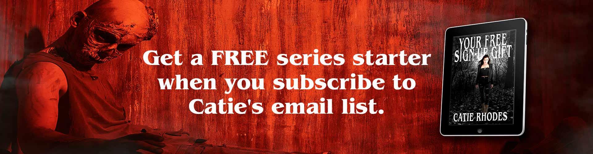 Get a free series starter
